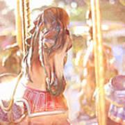 Carousel Dream Art Print
