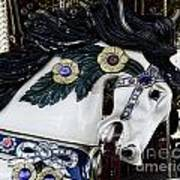 Carousel Horse - 9 Art Print