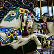Carousel Horse 5 Art Print by Paul Ward