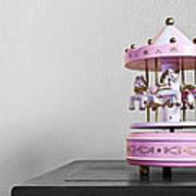 Carousel Toy  Art Print