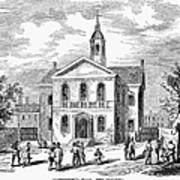Carpenters Hall, 1855 Art Print