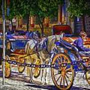 Carrage Waiting Art Print