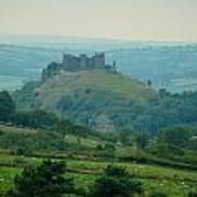 Carreg Cennen Castle Art Print
