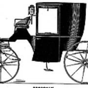 Carriage: Brougham Art Print