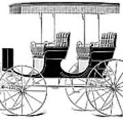 Carriage: Surrey Art Print