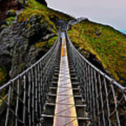 Carrick-a-Rede Rope Bridge Art Print