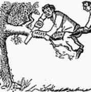 Cartoon: Secession, 1861 Art Print