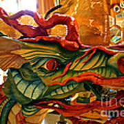 Carved Dragon Art Print