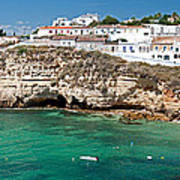 Carvoeiro Panorama Art Print