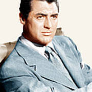 Cary Grant, Ca. Early 1940s Art Print by Everett