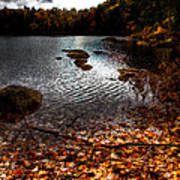 Cary Lake After The Storm Art Print