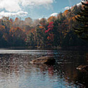 Cary Lake In The Adirondacks Art Print