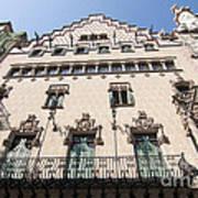 Casa Amatller Building Barcelona Art Print by Matthias Hauser