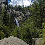 Cascade Falls Yosemite National Park Art Print