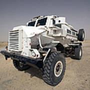 Casper Armored Vehicle Sits Art Print
