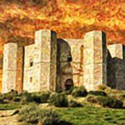Castel Del Monte Art Print