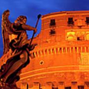 Castel Sant Angelo Print by Brian Jannsen