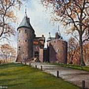 Castell Coch Art Print