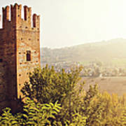 Castell'arquato Art Print by Just a click