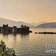 Castle Cannero On Lake Art Print