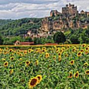Castle In Dordogne Region France Art Print