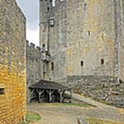 Castle Interior Ground France Art Print