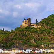 Castle On The Rhine Art Print