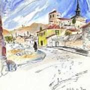 Castrillo De Duero In Spain 01 Art Print