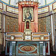 Cataldo Mission Altar - Idaho State Art Print