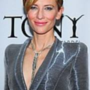 Cate Blanchett Wearing A Van Cleef & Art Print