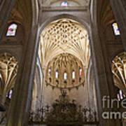 Catedral De Segovia Art Print