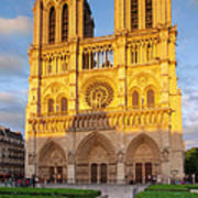 Cathedral Notre Dame Art Print