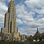Cathedral Of Learning Pittsburgh Art Print