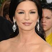 Catherine Zeta-jones Wearing Van Cleef Art Print by Everett