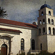 Catholic Church Old Town San Diego Art Print