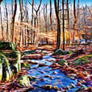 Catoctin Woods Art Print