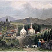 Catskill Village, 1839 Art Print