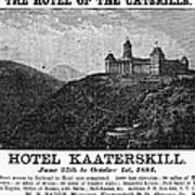 Catskills Hotel, 1884 Art Print