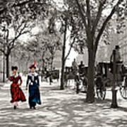 Catwalk In New York 1901 Art Print