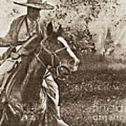 Cavalry Rides Again Art Print