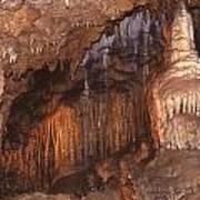 Cave Formations Art Print