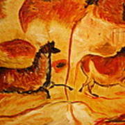 Cave Painting Art Print