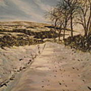 Cavehill Winter Walk Art Print