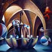 Caverna Magica Art Print