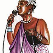 Cecile Kayirebwa Art Print