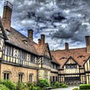 Cecilienhof Palace At Neuer Garten Berlin Art Print