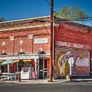 Cedarville California Grocery Store Art Print by Scott McGuire