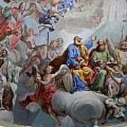 Ceiling Fresco - Karls Church Art Print