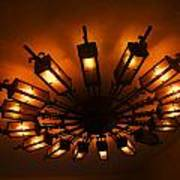 Ceiling Light At One O Clcok Art Print