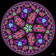 Celestial Coordinate System Art Print